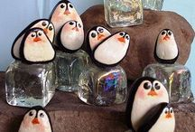 Penguin thingies / In loving memory of my beloved brother who showed me how special and inspirational penguins are. Each time I see a penguin my heart is touched by happy memories.