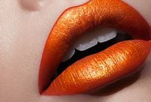 Orange  ✿⊱╮Fashion / Thank you for following me! Please, pin with respect!