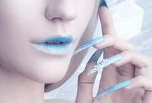 Light Blue ✿⊱╮Fashion / Thank you for following me! Have originality, so try to pin with respect!