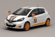 Kofola company cars | Kofola firemní vozy / Car graphics design | Grafický design vozu
