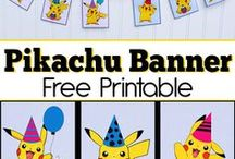 Pokemon Birthday Party Ideas / My son wants a Pokemon Birthday for his next party. So here are some ideas that I have found, hopefully, they are inspiring to you!   #Pokemon #GO #Birthday#pokemon#birthday#party#ideas#inspiration#onbudget#decorating#Pikachu#Friends#kids#youth#theme#boy #girl #fun #happy#children#catch#all#PokemonBall#ball#goodie#bags#inexpensive#cheap#lowcost#indoor#awesome#easy#simple#quick#last#minute