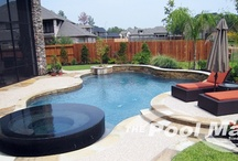 Custom Swimming Pools / Nothing says backyard retreat like a custom designed and built swimming pool.  The Pool Man, Inc, is a Houston Pool Builder who specializes in custom swimming pools to fit your lifestyle and budget.