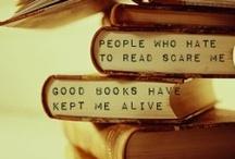BOOKS, BOOKS, BOOKS!! / by Kandice Bassett