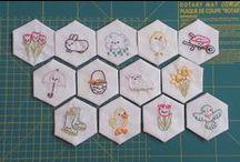 Bordados / Embroidery / by SilviaLGD LittleGreenDoll