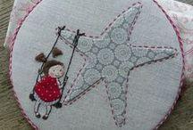 Patchwork & Crafts / by SilviaLGD LittleGreenDoll
