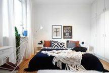 Chambre - Bedroom | FOCUS / Idées déco, propositions de décoration, tendances, couleurs en vogue ... le tout concernant uniquement la chambre !