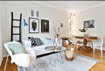 Salon · Living Room | FOCUS / Idées déco, propositions de décoration, tendances, couleurs en vogue ... le tout concernant uniquement le salon !