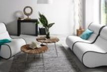 Canapés | KAVEHOME / Retrouvez dans ce tableau une sélection de mobilier pour vous asseoir ou vous coucher seul ou à plusieurs, pour toutes les pièces de la maison, toujours design et confortable ! Canapés, canapés-lit, bancs, fauteuils pour 1,2,3 ou + personnes, découvrez tous nos modèles et les différents coloris disponibles sur kavehome.com !