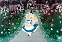 Illustration - Alice in Wonderland