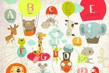 Illustration - Alphabets