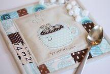 Patchwork Mug Rugs - Coasters - Pot Holders