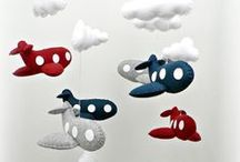 Patchwork Mobiles