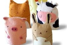 Patchwork Puppets