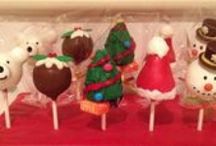 Cake Pops / Cake pops are simply delicious cake coated with chocolate, designed to suit you.