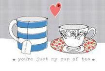 Illustration - Coffee & Tea