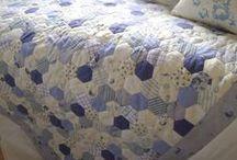 Patchwork Quilts - Hexagons