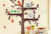 Playroom/Library / Woodland Creatures Theme