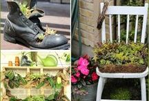 """DIY Gardening / GreenWay Blooming Centre's favourite """"Do It Yourself"""" gardening projects! From one gardening lover to another."""