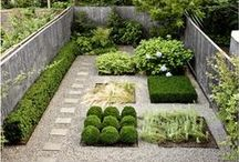 Garden Designs / We've gathered our favourite design ideas for all different types of gardens. Whether you're looking for inspiration for a large backyard garden, a simple flower garden for your townhouse, or even an space saving garden your apartment patio, you'll find something beautiful here!