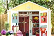 Garden Sheds / Finish off your garden with the perfect garden shed!