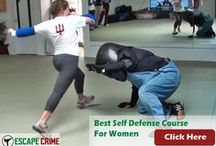 Women's Self Defense / All things related to helping women protect themselves from criminal attack. http://www.escapecrime.com/Self-defense-for-women.html