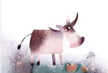 Illustration - Farm / Granja