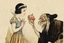 Illustration - Snow White / Blancanieves