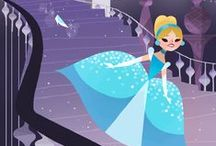 Illustration - Cinderella / Cenicienta