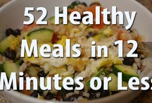 healthy foods and workouts