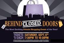 Behind Closed Doors / The most exciting and private shopping event of the year in Peterborough at Lansdowne Place