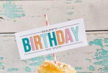 birthdays  / by Mendive Galvan