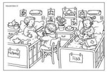 School / Thema ziek en gezond