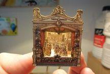 It's a big, big world! / miniatures
