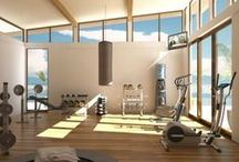 Ideas for my home gym / A good inspiration for building my home gym & fitness center business. / by Too Chaiyot