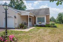 Cottages at Souderton Mennonite Homes / Residential Living cottage accommodations at Souderton Mennonite Homes.