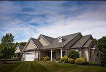 Villas at Dock Woods / Residential Living villa accommodations at Dock Woods.