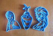 Princesses/Snowman Cookie Cutters