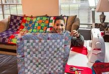 Afrotexan - Quilts / I am not a quilter. After seeing a pin of a quilt, I was smitten by it artistry and beauty. As I learn more about the story of quilting, I begin to have fond recollections and thoughts of a spiritaul nature. I am still learning..