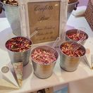 Confetti Bar / Selection of our Real Petal Pick & Mix Confetti Bars, a Beautiful addition to any Wedding