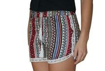 Challis Shorts / High quality challis shorts! Boutique items at closeout prices.