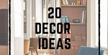 20 Ferreira de Sá Decor Ideas / We offer you 20 tips of home decorations based on ours projects. To see more: www.ferreiradesa.pt