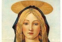 Madonne angeli e santi