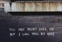 "Street art / ""Art on the road"""
