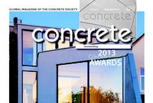 The Concrete Society Awards 2013 / The Concrete Society presents its 2013 Excellence in Concrete Awards. This year the nominees were split into the following categories: Building Category: Mixed use, Building Category: Education, Civil Engineering and Supporting Industry Awards.