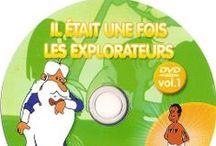 Cover Dvd - Il etait une fois... les explorateurs