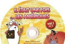 Cover Dvd - Il etait une fois... les amériques