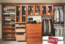 Custom Closets / More Space Place offers smart, stylish storage solutions custom designed to perfectly fit your space and personal style.