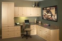 Home Offices / More Space Place maximizes your home's space and functionality in ways you've always dreamed, but thought impossible. Our modular office customization is specifically tailored for your home and lifestyle, right down to the subtle details and final touches creating space-saving solutions.