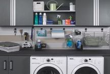 Laundry and Pantries / We design an array of space saving storage solutions for all your pantries and laundry rooms!