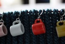 "Stitch markers - yarn / ""Never forget"""